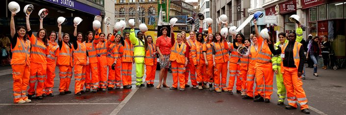 Women in construction London