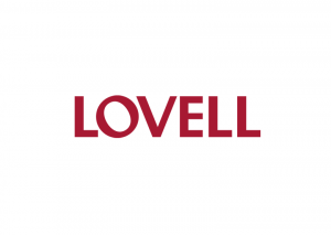 Lovell logo - construction and maintenance company