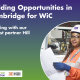 Building opportunities in Cambridge for WiC