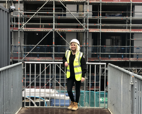 Women into Construction Hill Ironworks Trainee Site Manager
